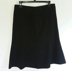 Bandolino Stretch Skirt - Black Size 8